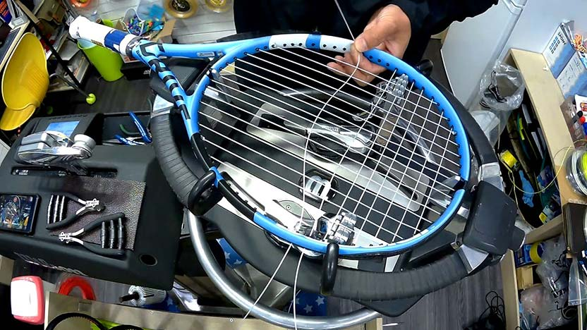 Tennis racket connection
